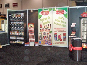 CRFA - Loretta Foods Booth
