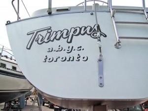 Trimpus boat